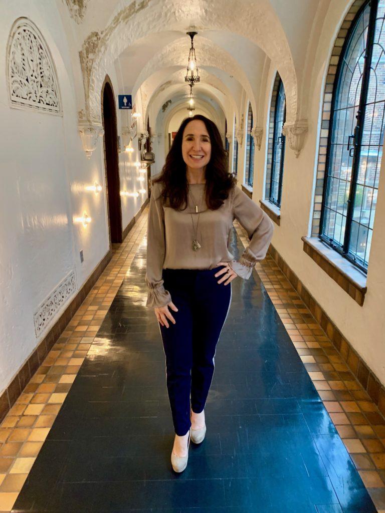 Anne in Hallway My health Journey